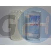 Nokia 500 átlátszó szilikontok Nokia 500  E001344