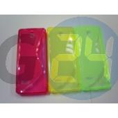 Nokia 515 pink hullámos szilikontok 515  E004597