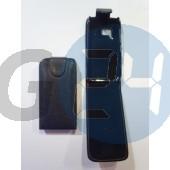 Nokia n8 felülcsattos fekete bőrtok N8  E001273