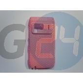 N8 rácsos hátlapvédő pink N8  E001588