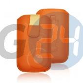 4g forcell egyszínű kihúzós tok narancssárga Univerzális  E005737