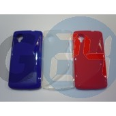 Lg nexus 5 kék hullámos szilikontok Nexus 5  E005097