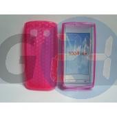 Nokia 500 pink szilikontok Nokia 500  E001345