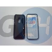 Nokia 220 fekete hullámos szilikontok 220  E005953