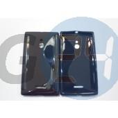 Nokia xl fekete hullámos szilikontok Nokia XL  E005691