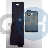 Galaxy note felülcsattos fekete tok Note  E000516