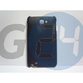 Galaxy note fekete rácsos hátlapvédő Note  E001982