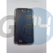 N7100 galaxy note2 fémes kevláros hátlapvédő fekete Note2  E003427