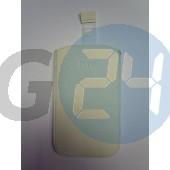 Htc one x kihúzós fehér bőrtok felirat nélküli One X  E000668