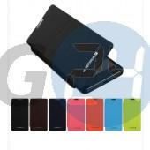 Lg optimus g mercury oldaltnyitós tok - sötétkék Optimus G E975  E004927