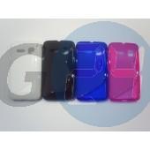 Ot4030 one touch mini kék hullámos szilikontok OT4030  E004204