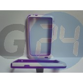 I9100 fehér-lila bumper Galaxy S2  E000735