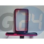 I9100 fekete-pink bumper Galaxy S2  E000734