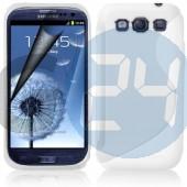 I9300 galaxy s3 fehér hullámos  szilikontok Galaxy S3  E000784