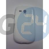 I8190 galaxy s3 mini fehér hullámos szilikontok Galaxy S3 mini  E003235