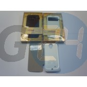 I9500 galaxy s4 ablakos oldaltnyitós külső akkumulátoros tok - 3500 mah-s, fehér Galaxy S4  E005764