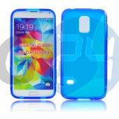 G800 galaxy s5 mini kék hullámos szilikontok Galaxy S5 mini  E006257