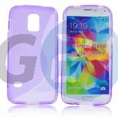G800 galaxy s5 mini lila hullámos szilikontok Galaxy S5 mini  E006256