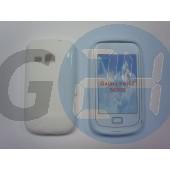S6500 galaxy mini2 fehér hullámos szilikontok Galaxy Mini2 S6500  E001742