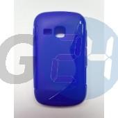 S6500 galaxy mini2 kék hullámos szilikontok Galaxy Mini2 S6500  E003899