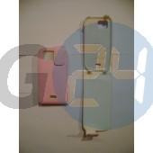 S8000 felülcsattos babarózsaszín bőrtok S8000  E001756