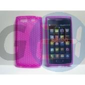 S8600 wave3 pink szilikontok Wave3 S8600  E001765