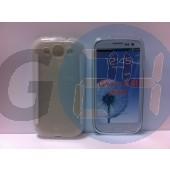 I9300 galaxy s3 átlátszó szilikontok Galaxy S3  E000783