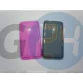 S7530 omnia m pink szilikontok Omnia M  E001754