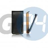 Alcatel ot6016 idol 2 mini slim kinyitós tok - fekete OT6016  E005985