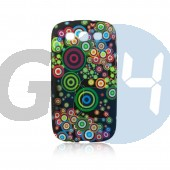 G3500 core plus mintás szilikontok színes karikás Galaxy Core Plus G350  E005610