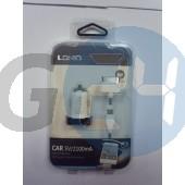 2100 mah-s szivartöltő micro usb-s és iphone 5 véggel Telefontöltők  E003064
