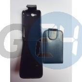 Htc wildfires felülcsattos fekete bőrtok Wildfire S  E000659