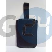 Htc kihúzós fekete bőrtok wildfires méret feliratos Wildfire S  E000661