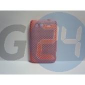 Htc wildfires pink rácsos hátlapvédő Wildfire S  E000673