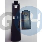 X2 felülcsattos fekete bőrtok X2  E002346