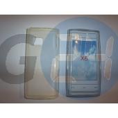 X6 átlátszó szilikontok X6  E001475
