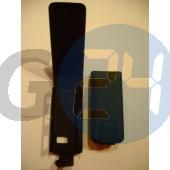 X6 felülcsattos fekete bőrtok X6  E002339