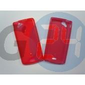 X12 xperia arc piros hullámos szilikontok Xperia X12  E000281