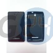 C1605 xperia e fekete hullámos szilikontok Xperia E  E003599