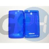 C1605 xperia e kék hullámos szilikontok Xperia E  E003765
