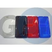 C1905 xperia m kék hullámos szilikontok Xperia M  E004444