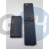 C1905 xperia m slim kinyitós tok - fekete Xperia M  E004380