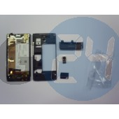 Mt27i xperia sola lcd+érintő+középrész+akkumulátor - gyári, bontott  E003509