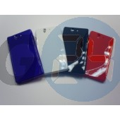 L36i xperia z kék hullámos szilikontok Xperia Z  E003239
