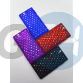 L36i xperia z fekete strasszos hátlapvédő Xperia Z  E003695