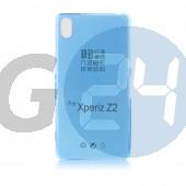 D6503 xperia z2 extraslim szilikontok víztiszta kék Z2  E005983