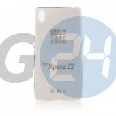 D6503 xperia z2 extraslim szilikontok víztiszta szürke Z2  E005981
